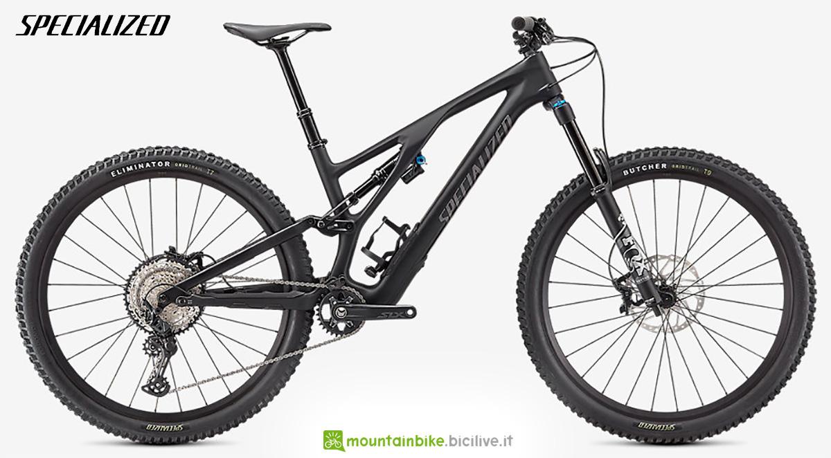 La nuova mountainbike Specialized Stumpjumper Evo Comp 2021