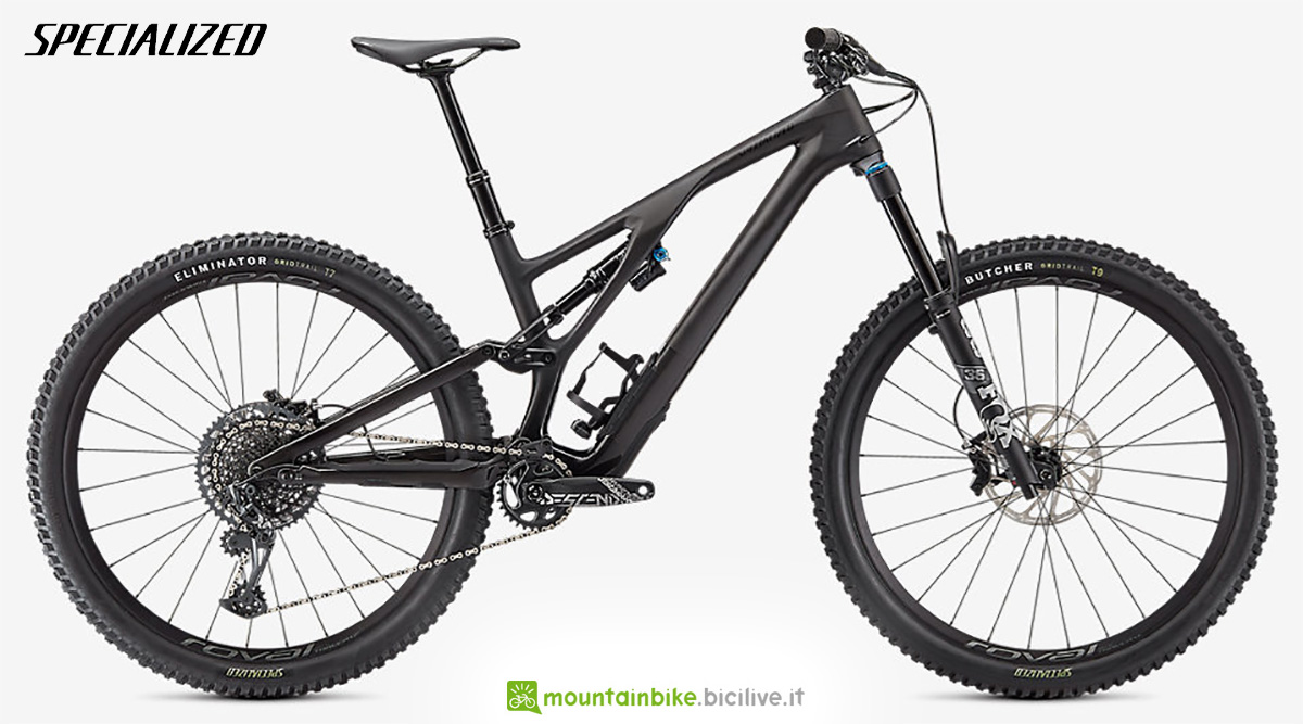 La nuova mountainbike Specialized Stumpjumper Evo Expert 2021