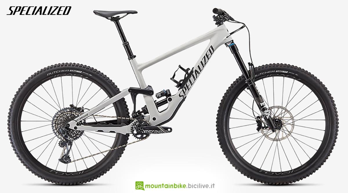 La nuova mountainbike biammortizzata Specialized Sworks Enduro Expert 2021