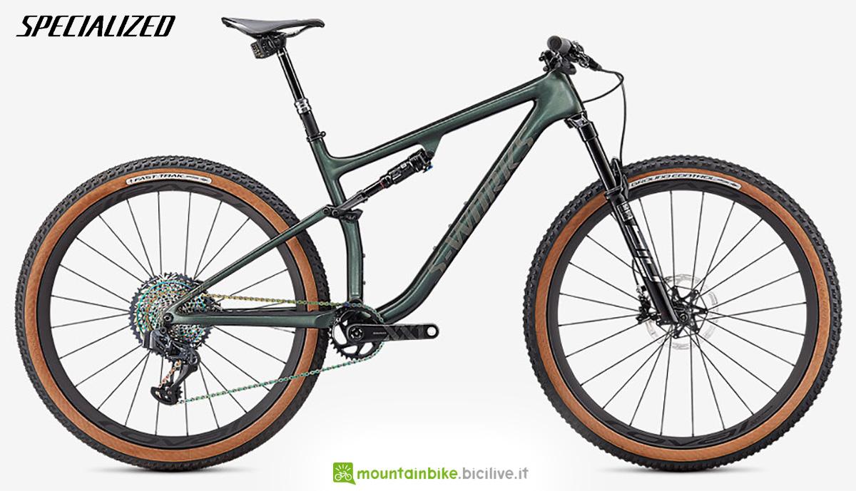 La nuova mountainbike full Specialized Sworks Epic Evo 2021