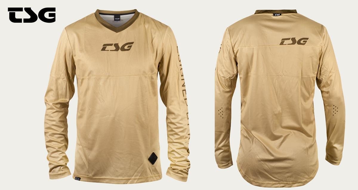 La maglia tecnica per mtb TSG MF1 della collezione primavera/estate 2021