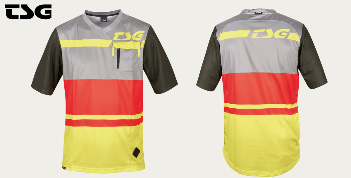La maglia tecnica a maniche corte per mtb TSG SP5 della collezione primavera/estate 2021