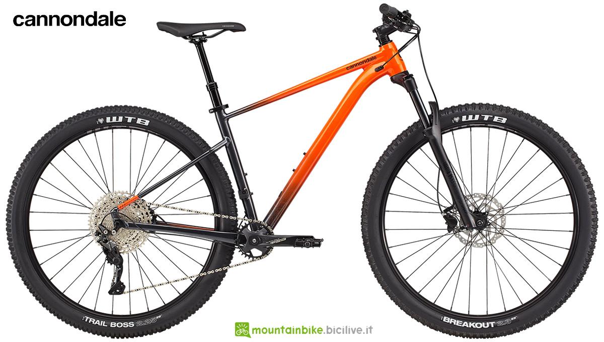 La nuova mountainbike hardtail Cannondale Trail SE 3 2021