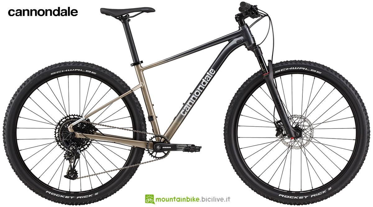 La nuova mtb hardtail Cannondale Trail SL 1 2021