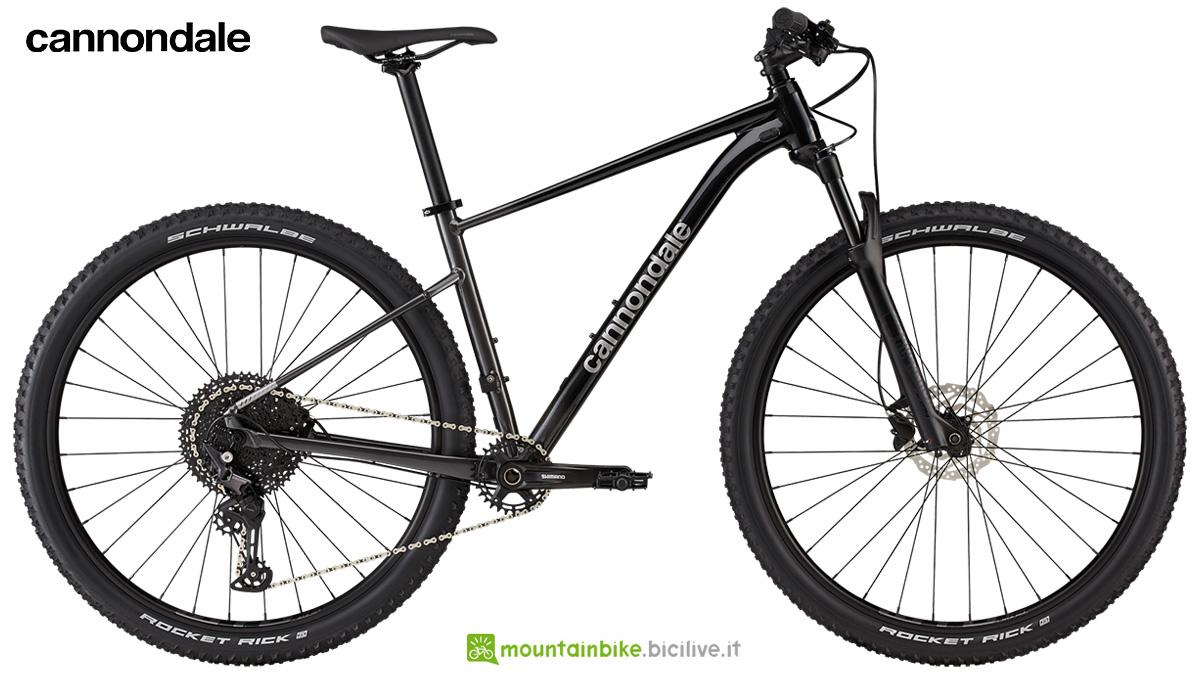 La nuova mountainbike hardtail Cannondale Trail SL 3 2021