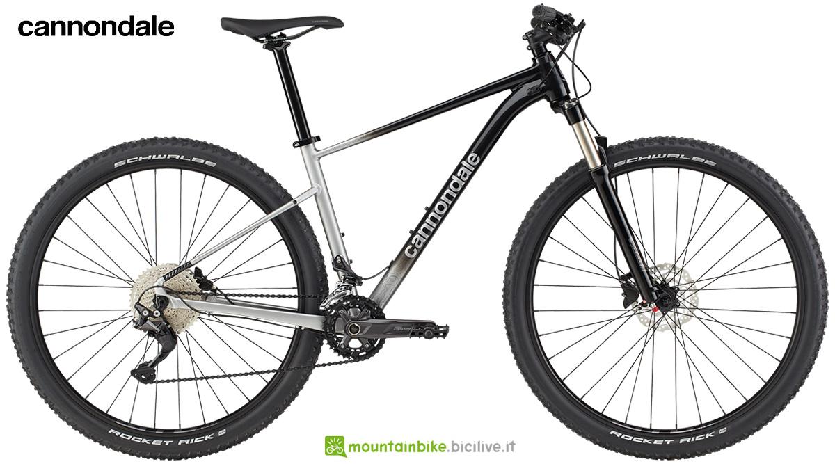 La nuova mountainbike hardtail Cannondale Trail SL 4 2021
