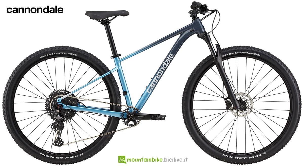 La nuova mountainbike hardtail Cannondale Trail womens SL 3 2021