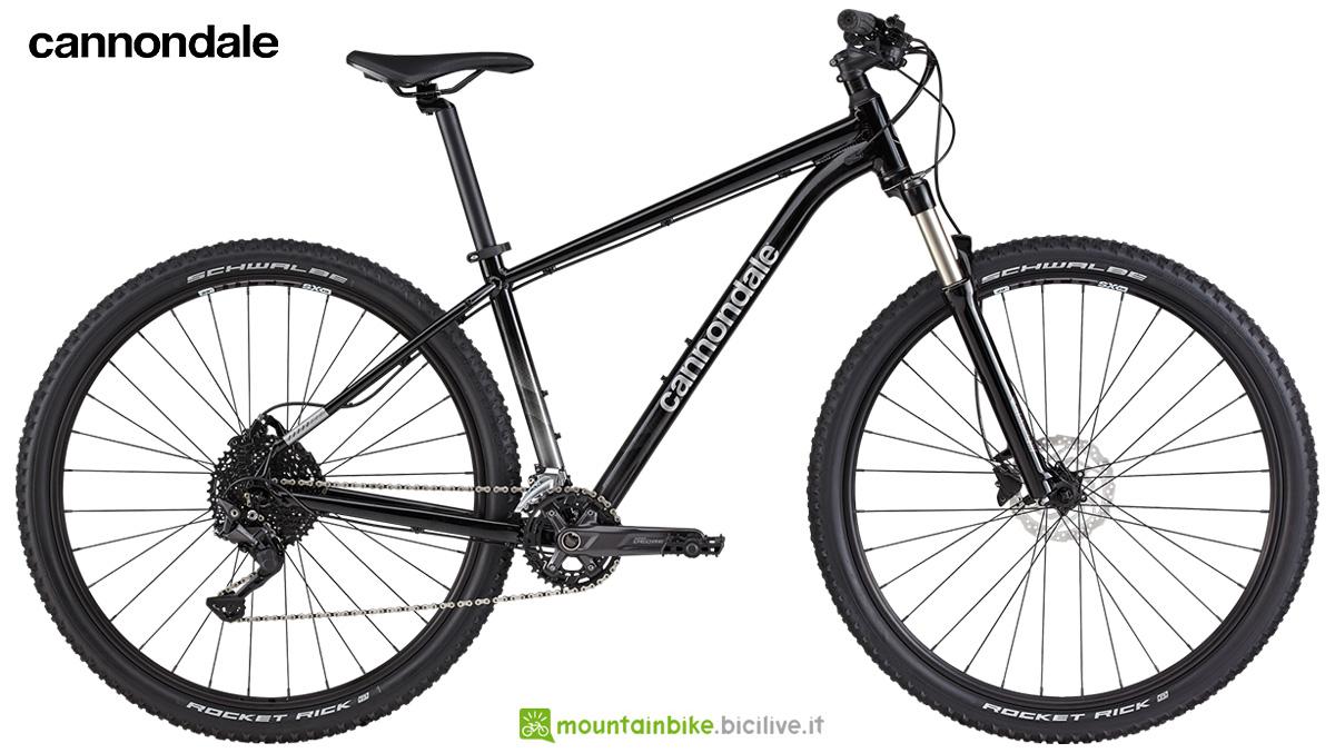 La nuova mountainbike hardtail Cannondale Trail 5 2021