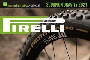 I nuovi pneumatici per mtb da gravità Pirelli Scorpion 2021