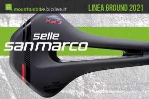 Selle San Marco Ground 2021: sella MTB e bici gravel