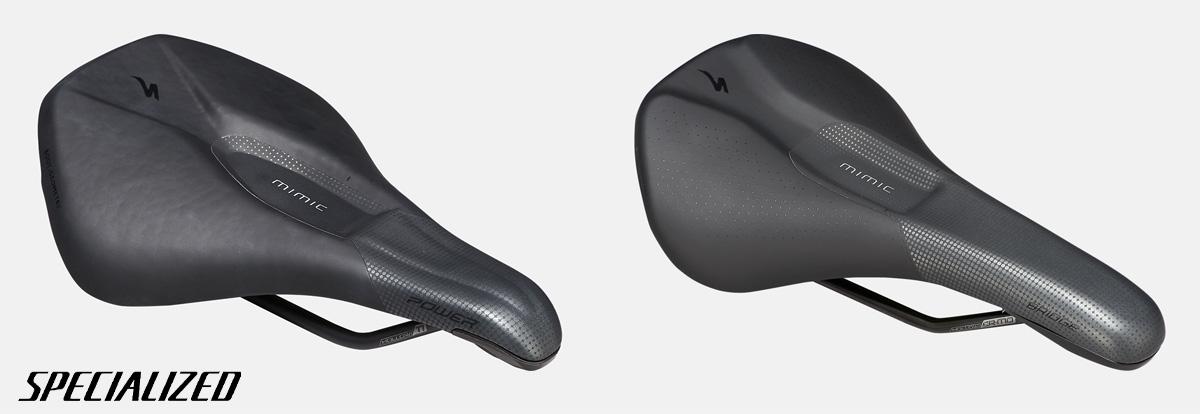 Le nuove selle per mountainbike Specialized Bridge Comp e Power Pro Mimic Elaston 2021