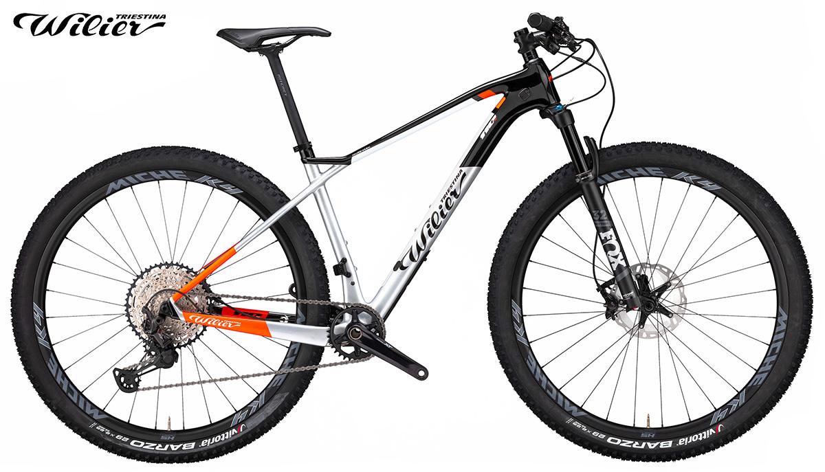 La nuova mountainbike hardtail Wilier Triestina 110X 2021 vista lateralmente