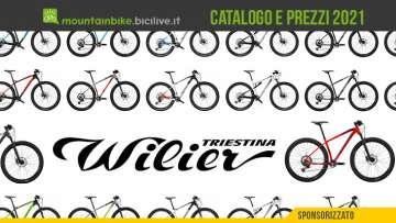 Il catalogo e il listino prezzi delle nuove mountainbike Wilier Triestina 2021