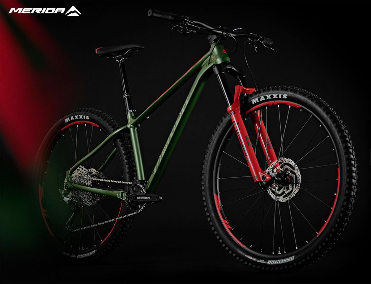 La nuova mountainbike biammortizzata Merida Big Trail 600 2021