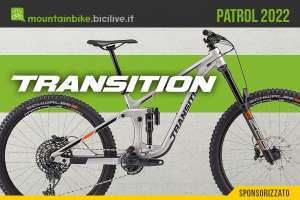 La nuova mountainbike Transition Patrol 2022