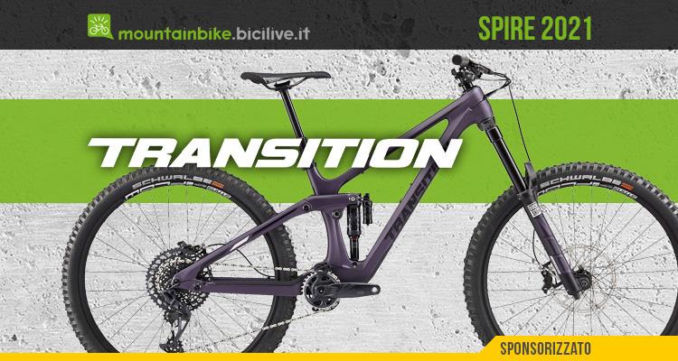 La nuova mountainbike Transition Spire 2021