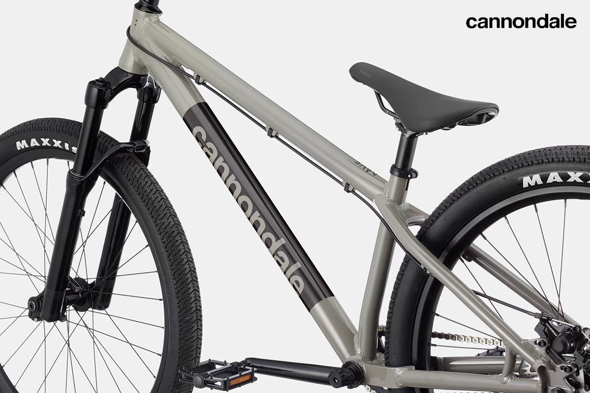 Dettaglio del telaio della nuova bicicletta da dirt jump Cannondale Dave 2021