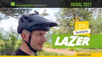 Il test di Claudio Riotti del casco per mountainbike Lazer Jackal 2021