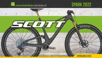 Le nuove mtb Scott Spark 2022