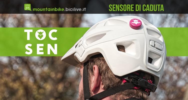 Il sensore smart di caduta per mountainbike Tocsen 2021