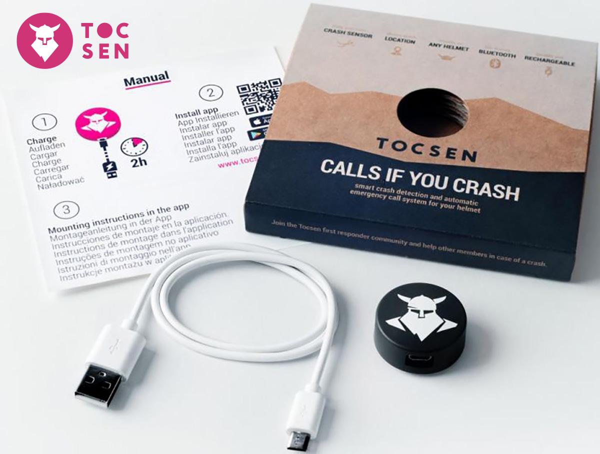 Il kit dei sensori caduta Tocsen per mountainbike