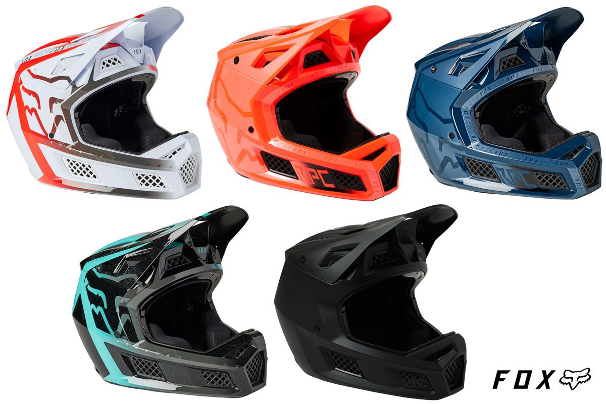 Il nuovo casco per mtb Fox Rampage Pro Carbon 2022 nelle sue varianti colore