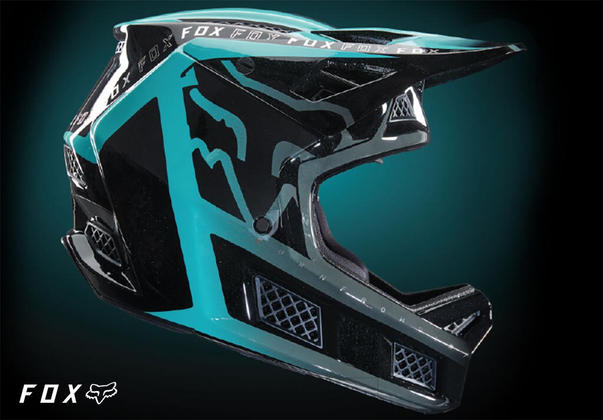 Il nuovo casco per mountainbike Fox Rampage Pro Carbon 2022