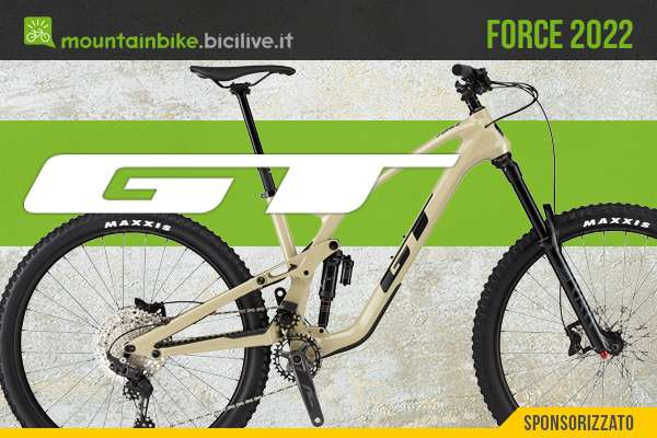 Le nuove mtb full GT Force 2022