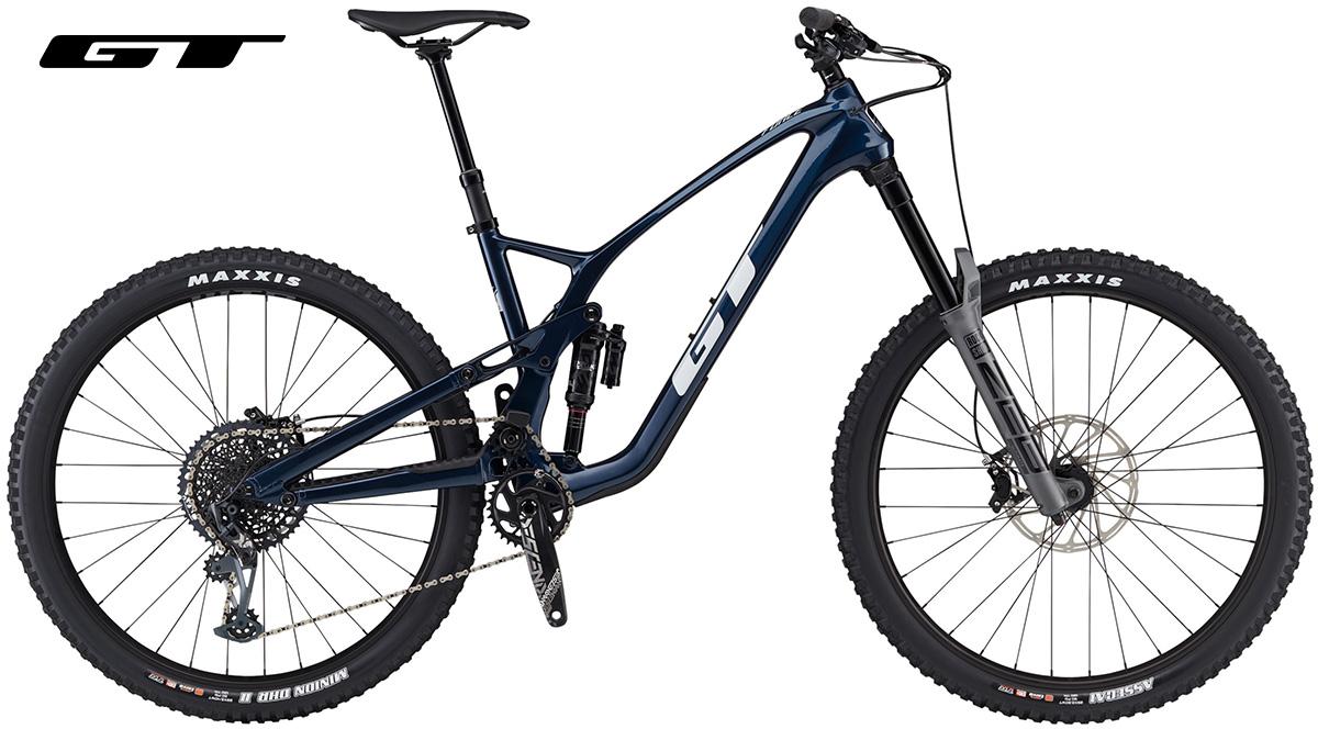 La nuova mountainbike biammortizzata GT Force Carbon Pro 2022