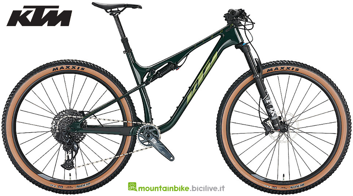 La nuova mountainbike full KTM Scarp MT Elite AXS 2022