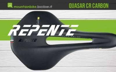 La nuova sella per mountainbike Repente Quasar CR Carbon 2021