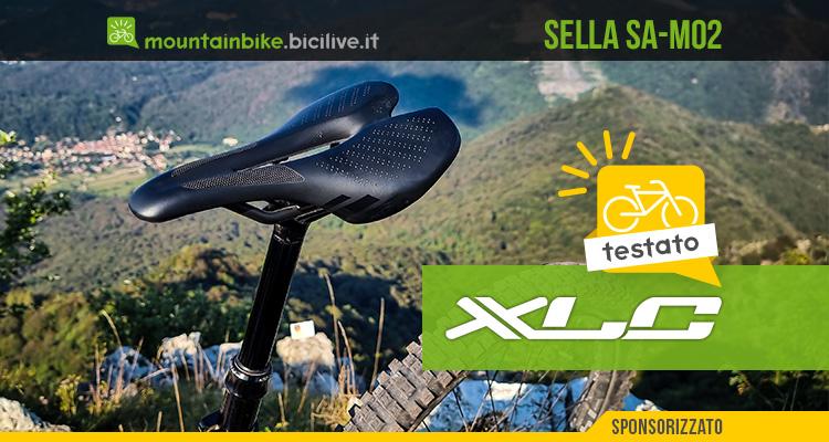 Foto della sella per mountain bike XLC SA-M02